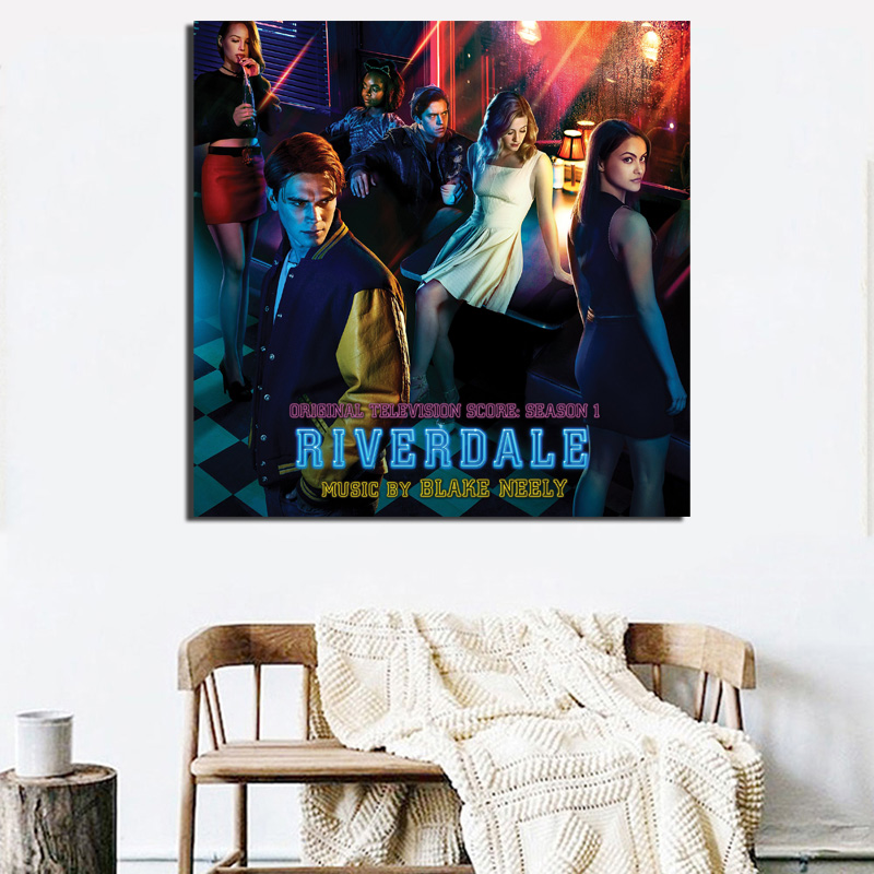 Characters On Riverdale Canvas Painting Prints Bedroom Home Decoration Artworks Modern Wall  Art Oil Posters Pictures