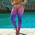 Nueva Llegada Polainas de La Manera de Escamas de Pescado de Las Mujeres Leggins de Fitness Sexy Pantalones de Secado rápido Ocasionales Cómodos Leggings Deportivos