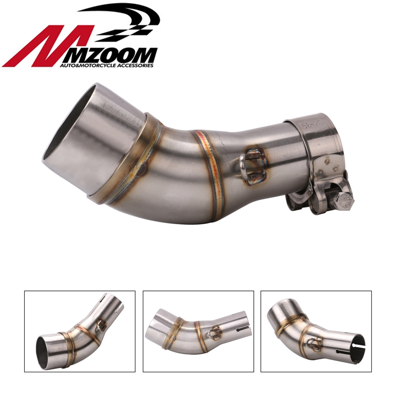 Scooter Muffler Exhaust-Pipe R25 R3 Motorcycle YAMAHA Middle for YZF Modified