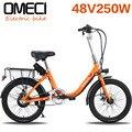 Литиевая батарея электрического велосипеда  гибридный велосипед 48 В  для взрослых женщин  для путешествий  литиевая батарея для леди  20 Вт  э...