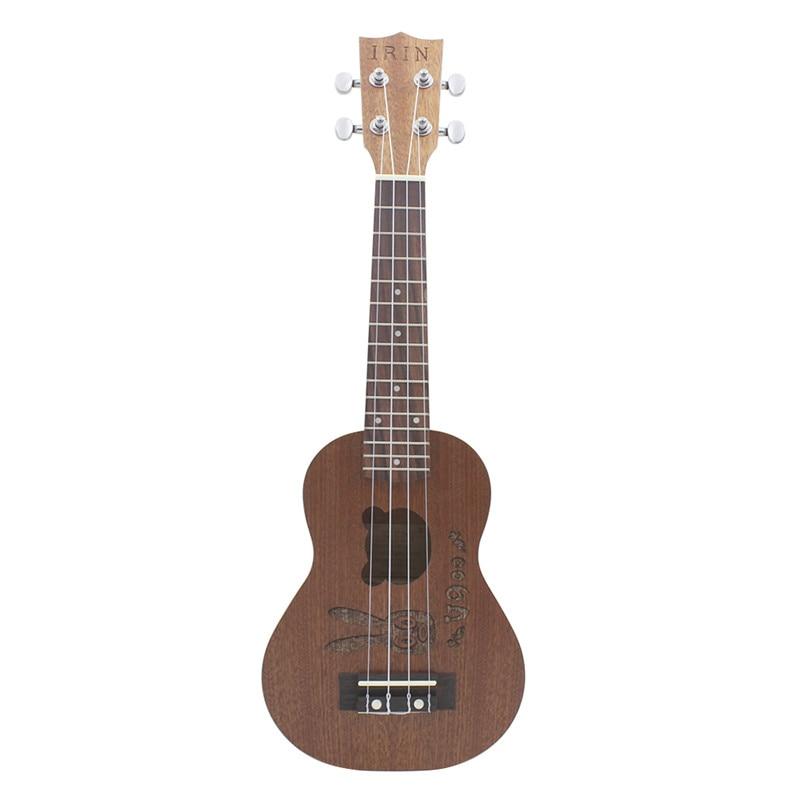 irin 21 inch rabbit bear sapele wood mini guitar stringed instruments gift for music lovers. Black Bedroom Furniture Sets. Home Design Ideas