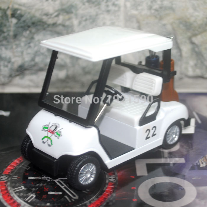 Brand New KT Car Model Toys Golf Car Diecast Metal Pull Back Model Toy For Gift/Kids/Collection