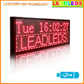 Red Multi-line LED Sign Programmable by usb Scrolling Message Board