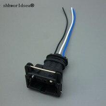 Shhworld Sea 3 Pin 3,5 мм Автомобильный таймер Питания Провод гнездовой разъем ограничительный датчик разъем 282191-1 282729-11-962581-1 для Toyota