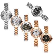 Lvpai Fashion Women's Watch Roman Numerals Stainless Steel Quartz Wrist Watches