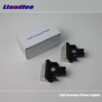 Liandlee For Citroen C5 II / C6 / LED Car License Plate Light / Number Frame Lamp / High Quality LED Lights