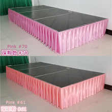 Free shipping Ice silk banquet table skirt wedding backdrop for tablecloth table cover wedding stage table skirting decoration - DISCOUNT ITEM  5% OFF Home & Garden