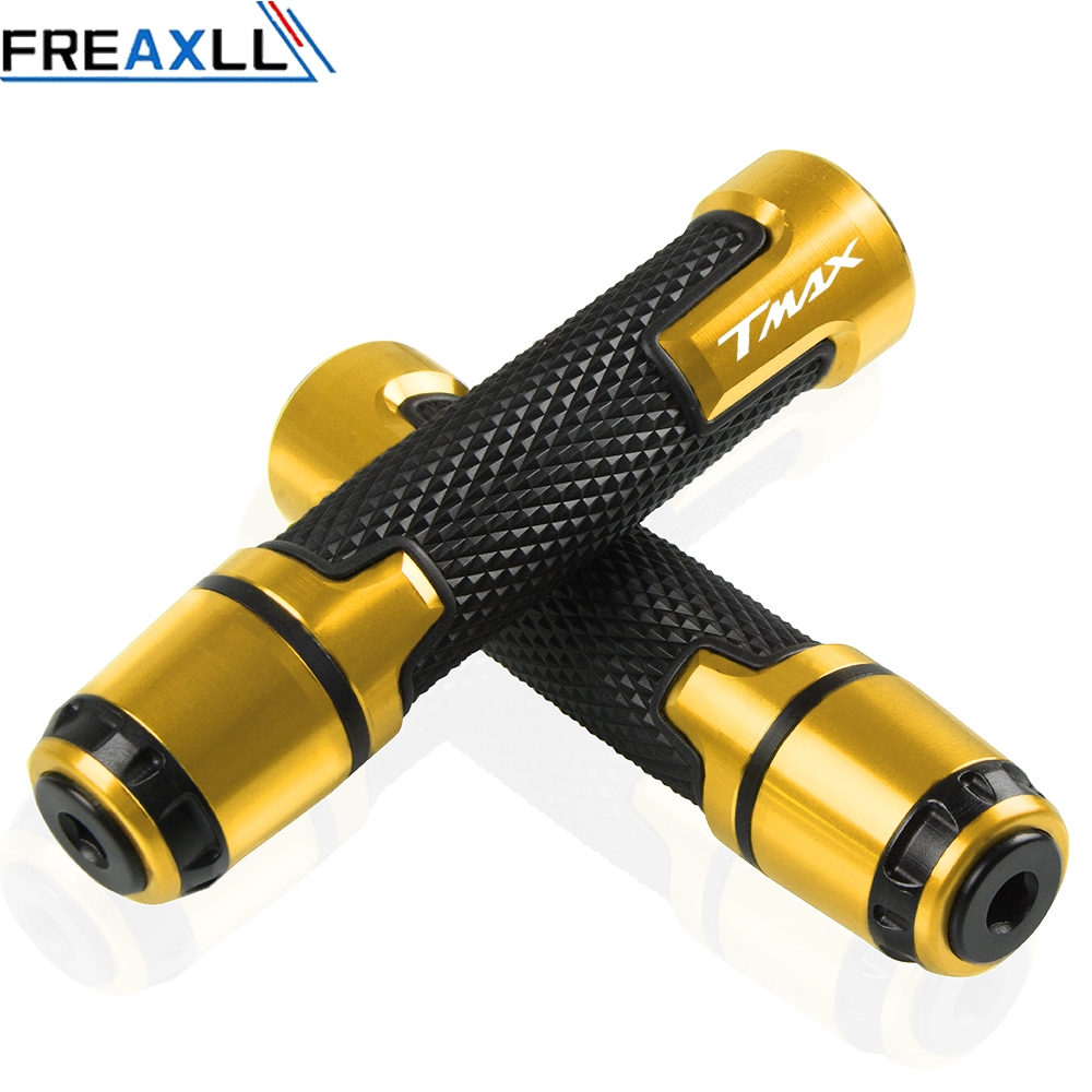 Motorcycle Accessories Handlebar Grip Handle Bar Hand ends For yamaha tmax 500 tmax 500 t max 500 TMAX 530 2001 2016 2002 2003 in Grips from Automobiles Motorcycles