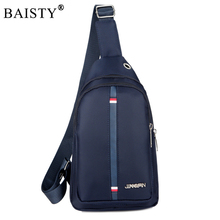 цена на 2017 Fashion Nylon Man Shoulder Crossbody Bags for Men Messenger bag Casual Single Shoulder Strap Pack High quality Chest Bags