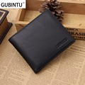 GUBINTU 2017 Men Wallets RFID Shielding Magnetic Compartment Men Wallet Genuine Leather Coin Purse Fashion Brand Designer &42