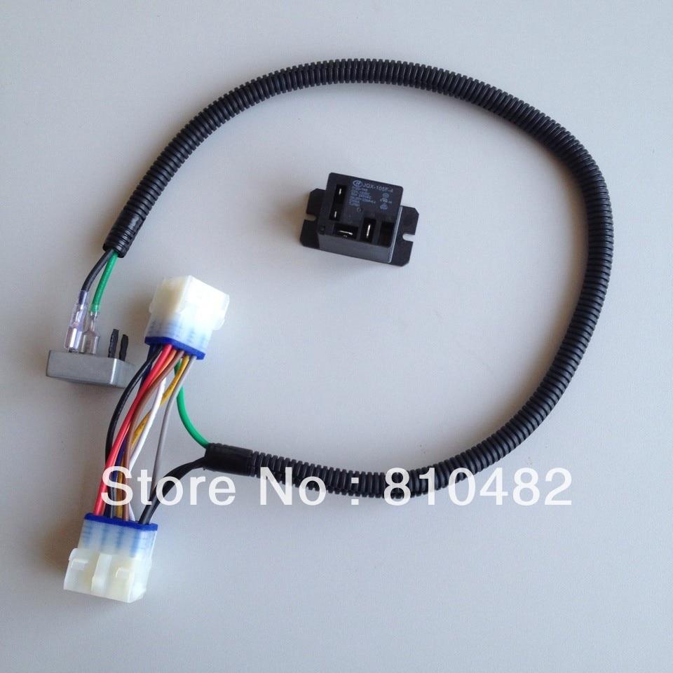 12 volt atv wire harness club car precedent deluxe light kit gas wiring harness ... ford 9n wiring diagram 12 volt 1 wire alternator