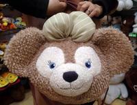 Kawaii Anime 45cm Shirley duffy Shelliemay Bear Plush Soft Hand Bag Cute Satchel Stuffed PP Cotton Toy for kids Good Quality