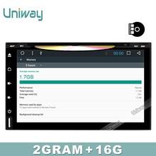 uniway 2G 16G 2 din android car dvd for nissan qashqai x trail juke almera tiida