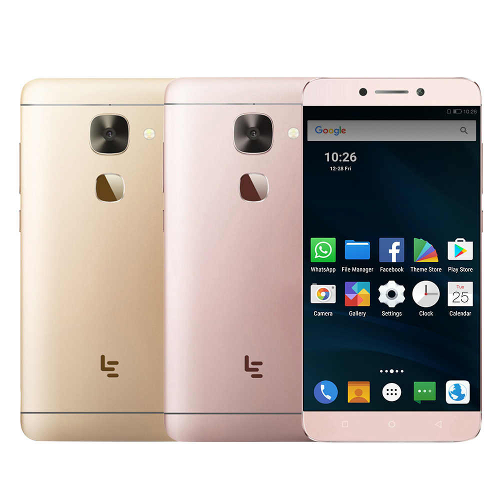 "Letv LeEco Le 2 Pro X625 Helio X25 CPU 4GB RAM 32GB ROM 4G LTE téléphone portable Android 6.0 5.5 ""FHD 21.0MP Fingrprint ID Smartphone"