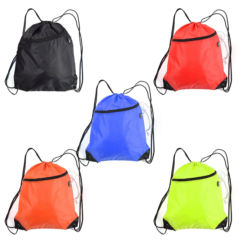 Pouch Shoe-Bags Dust-Backpacks Sports-Storage Travel Drawstring Nylon Outdoor Waterproof