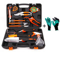 16 in 1 Garden Tools Set Multi Garden Saw,Knife,rake,scissors,gloves,Tape, straps,shovel,sprinkler,cutter,etc