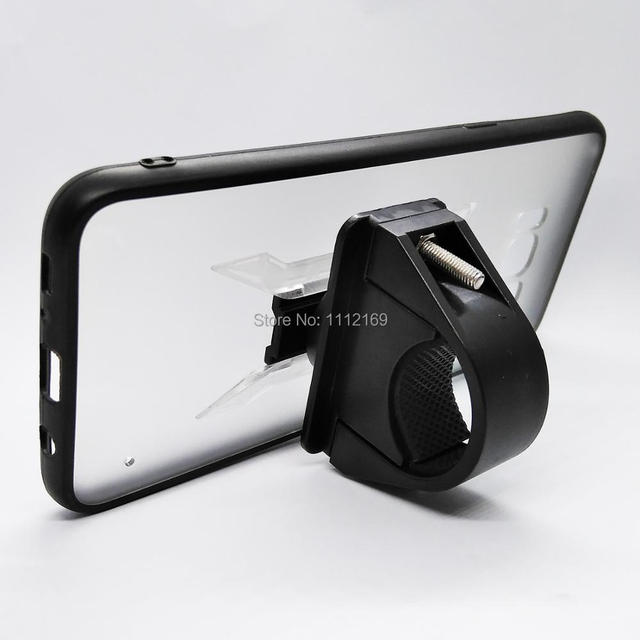 Bisiklet gidon montaj cep telefonu tutucu ray montaj tutucu standı kavrama klipsi durumda Samsung Galaxy S8/S8 artı/S9/S10/S10E