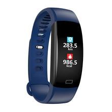 купить Smart wristbands blood pressure monitoring motion tracking sleep  health monitoring intelligent reminder waterproof bracelets по цене 1253.78 рублей
