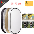 Godox 5 em 1 placa de 60 * 90 cm iluminação difusor de refletor disco
