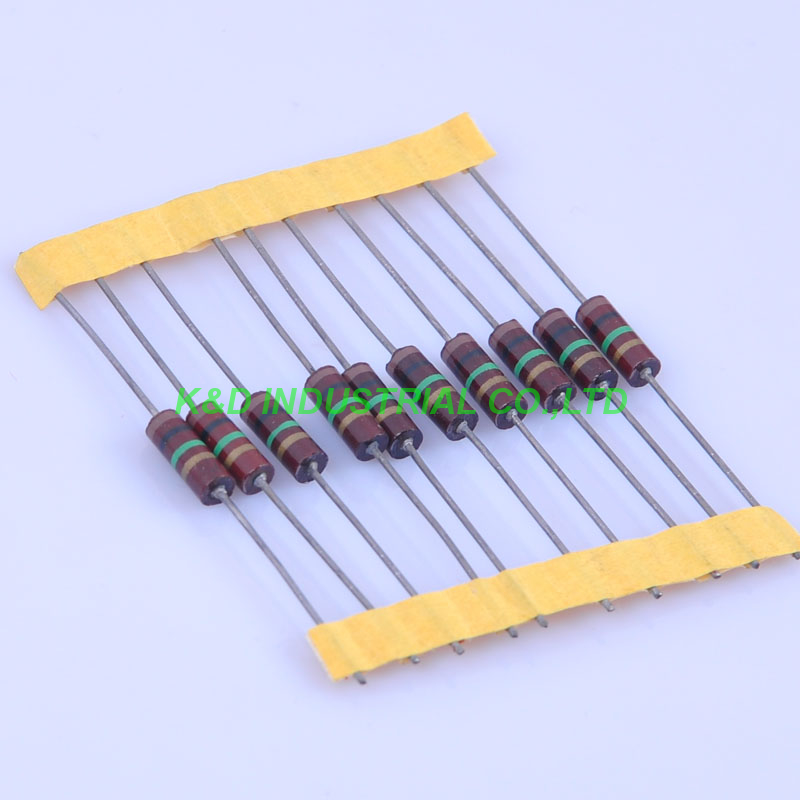 10pcs Carbon Composition vintage Resistor 0 5W 1M ohm in Electrical Plug from Consumer Electronics