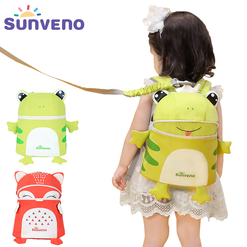 SUNVENO Toddler Baby Harness Backpack 5