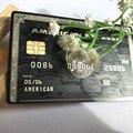 Американский Экспресс черный Центурион банковская карта настроить себя отличный подарок бесплатная доставка