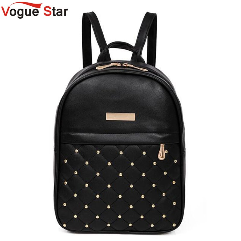 Casual Travel Bead Backpack for Teenage Girls PU Leather SchoolBag Backpack Mochila feminina Backpacks Shoulder Bags LB567 цена