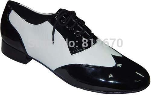 Qualité véritable cuir de vache noir blanc femmes EU35-46 plates Extra Large hommes plat unisexe chaussures modernes chaussures latines