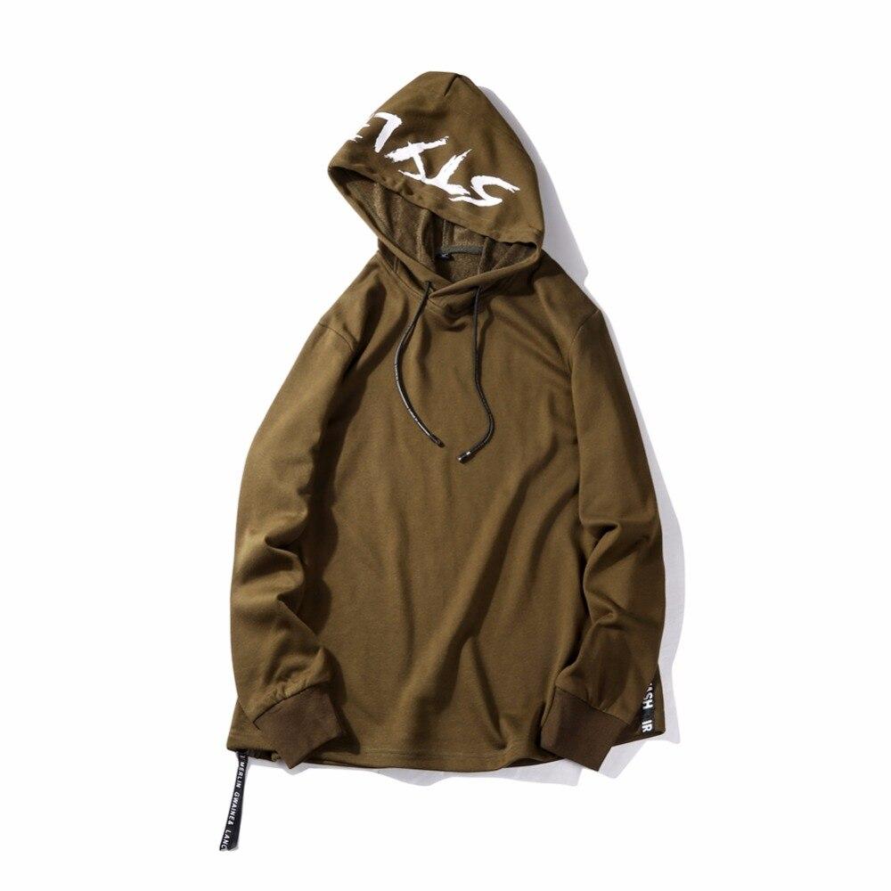 Hoodies Men Casual Sweatshirts Mens Hip Hop Streetwear Solid Fleece Hoody Man Brand Clothing Sportswear Moletom Masculino