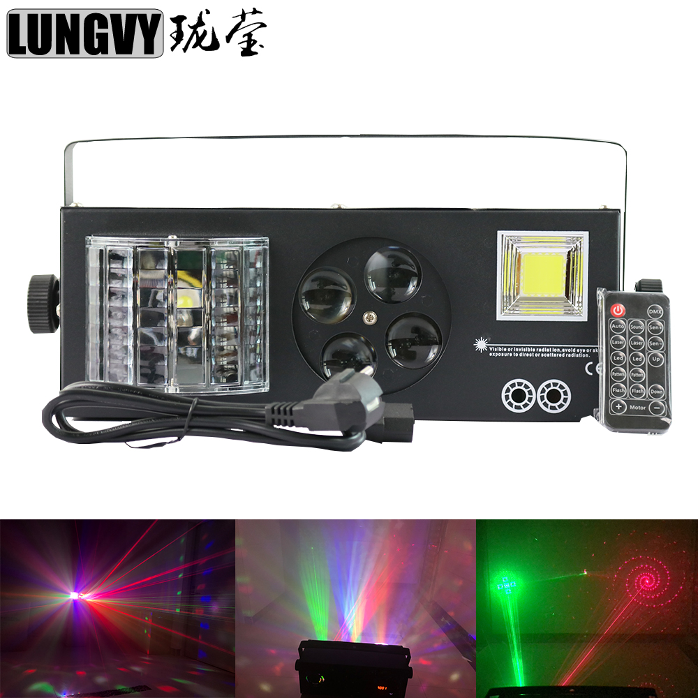 Free Shipping New Design 4X3W 4IN1 Led Spot 9 DMX512 Channel Stage Light For Disco DJ Party NightClub Pub KTV Professional