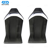 AMG Carbon seat back cover For Mercedes A45 CLA45 GLA45 C63 chair car accessories interior trim styling