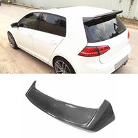 For Golf MK7 Carbon Fiber Rear Spoiler Roof Wing for VW Golf 7 VII MK7.5 standard GTI R Spoiler 2014 2017 Windshield Decoration