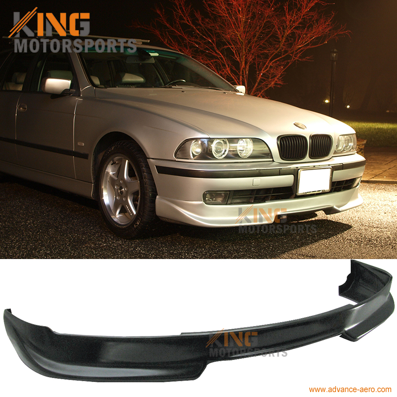 for 97 00 bmw e39 5 series front bumper lip unpainted pu ac s style spoiler in bumpers from. Black Bedroom Furniture Sets. Home Design Ideas