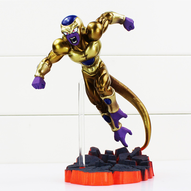 Dragon Ball Z Super Saiyan Son Goku Golden Freeza Fighting