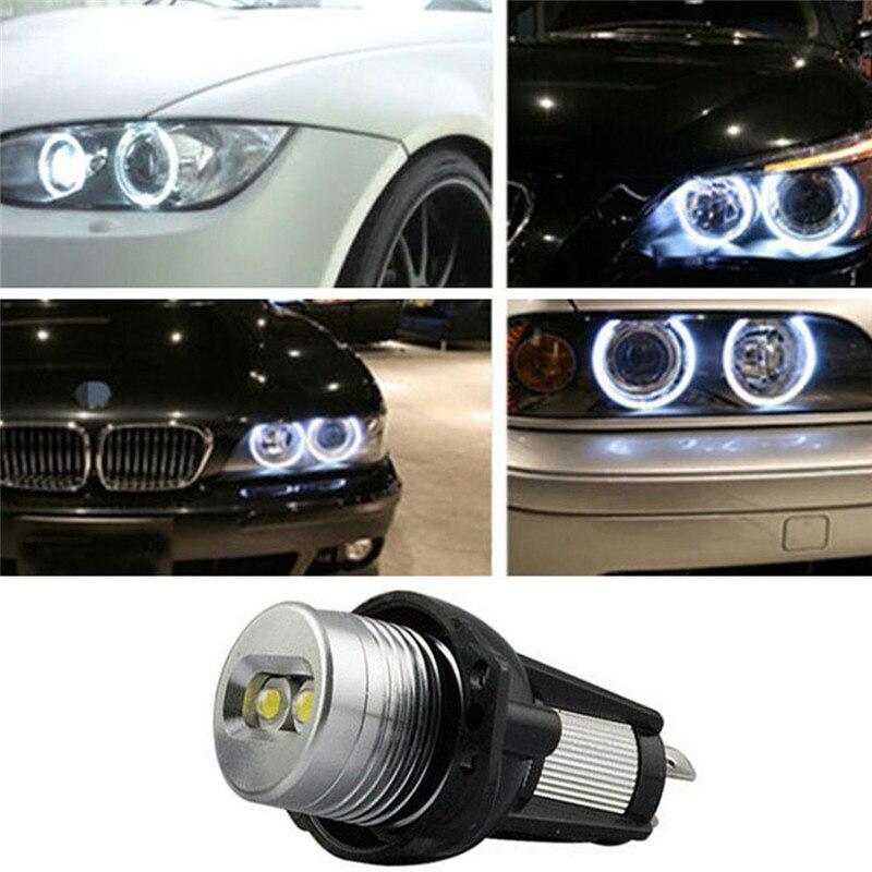 Car Styling 6W Super Bright Car Led Headlight Daytime Running Lights Auto E90/E91 LED Angel Eye Circle Driving Lights for BMW