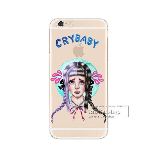 official photos cef00 70a95 US $0.93 37% OFF|Melanie Martinez Cry Baby Hard Transparent Cover Case For  Apple iPhone X 5 5S SE 6 6S 7 8 X Plus Clear Cell Phone Cases-in Fitted ...