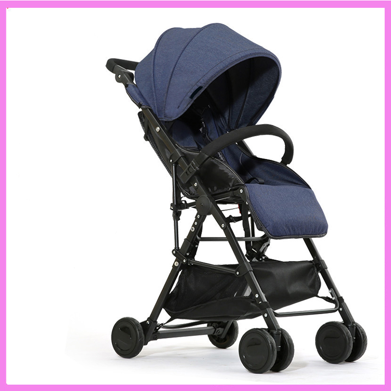 Campbell baby stroller factory direct light folding baby stroller can sit and lie Che Baobao wholesale Folding Carriage Buggy