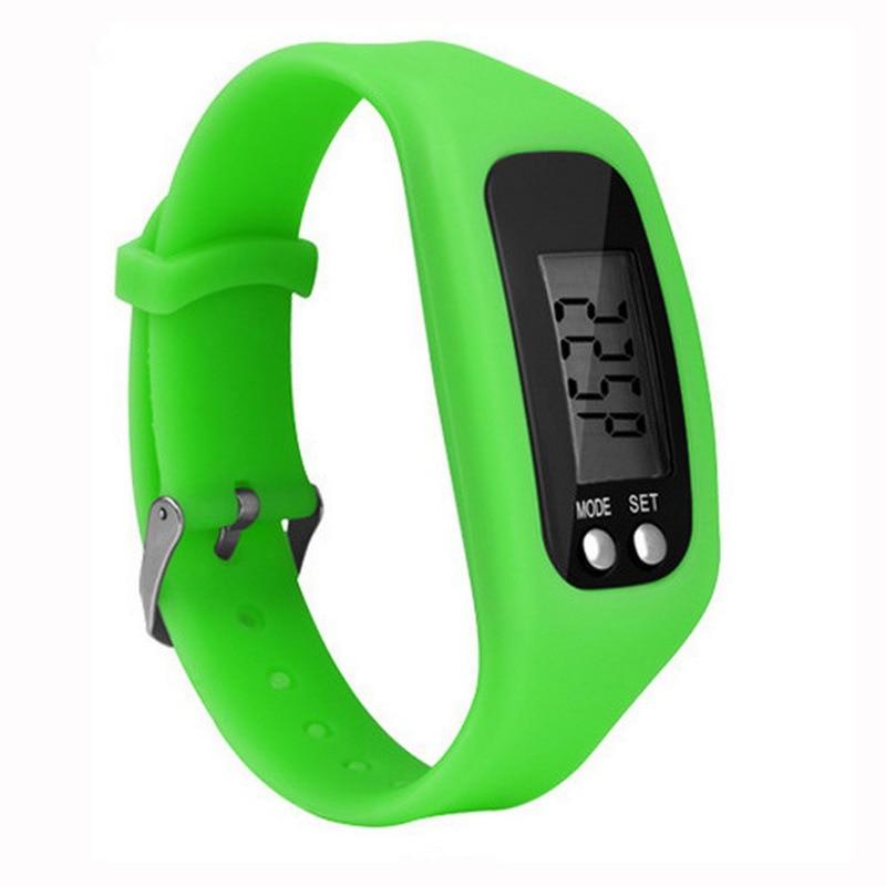 Olahraga Pedometer Berjalan Langkah Kontra Berjalan Jarak Calorie - Kebugaran dan binaraga - Foto 2