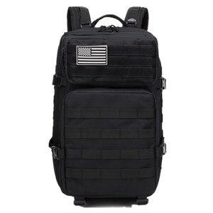 Image 3 - 45L ขนาดใหญ่ความจุ Man กองทัพทหารกระเป๋าเป้สะพายหลัง Multi Function 900D ไนลอนยุทธวิธี Pack Back กระเป๋าเป้สะพายหลัง mochila Militar