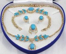 Belle belle magnifique GP mariée pierre gemme collier boucle d'oreille ring8 bracelet gemme femmes bijoux