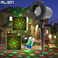 ALIEN Outdoor IP65 RG Snowflake Five Pointed Star Laser Light Projector Waterproof Garden Xmas Tree Christmas