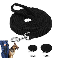 Dog Tracking Lead Non Slip Elastic Pet Long Leash Strap Bungee Leashes With Handle For Daily