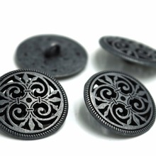 US $2.8 |20pcs 17mm&23mm Silver Tone Hollow Pattern Shank Sewing Metal Buttons DIY Sew On Jeans Cloth Buttons Round Scrapbook Decoration-in Buttons from Home & Garden on Aliexpress.com | Alibaba Group