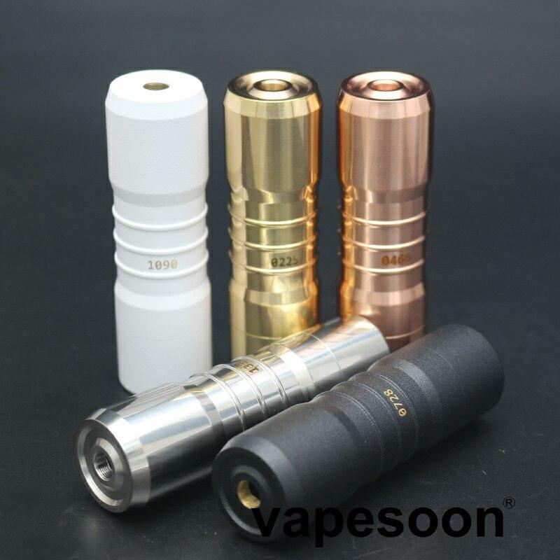 2018 neueste Elthunder MOD V3 Kit E Zigarette 18650 Batterie mit 24mm Dampf Verdampfer Box e-cig Mod fit 510 Gewinde Zerstäuber RDA