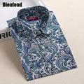 Dioufond bohemia mujeres blusas camisetas de manga larga mujeres tops de verano gira el collar abajo camisa de la blusa más el tamaño 20 colores