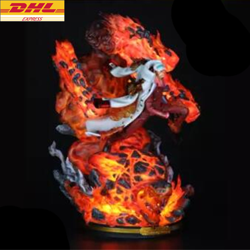 23 62 quot Statue ONE PIECE Bust Sakazuki Full Length Portrait With LED Light GK Action Figure Collectible Model Toy 60CM BOX D901 in Action amp Toy Figures from Toys amp Hobbies
