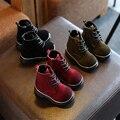 Venta caliente 2016 Nueva moda infantil niños zapatos bebé botas de montar ecuestres caliente, cómodo, impermeables niños niñas de invierno de arranque