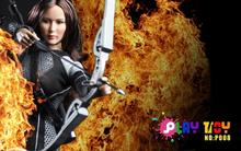 PLAYTOY 1/6 doll Model.12″ Action figure doll,The Hunger Games Katniss Everdeen Jennifer Lawrence,Collection Model Toy