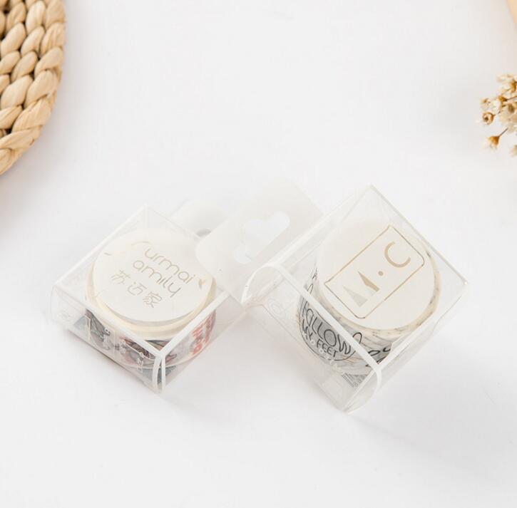 MC Home Novelty Patterns Decorative Washi Tape DIY Scrapbooking Masking Tape School Office Supply