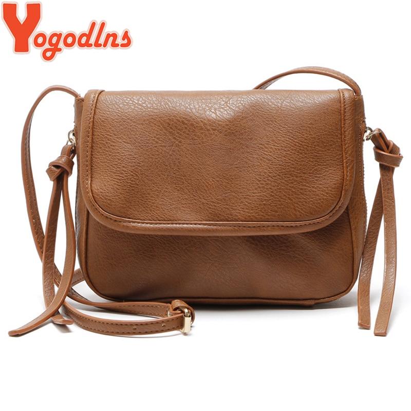 Yogodlns Women Classic PU Leather Messenger Bag Female Crossbody Bag Small  Flap Bags Vintage Tassel Shoulder Bag Handbags